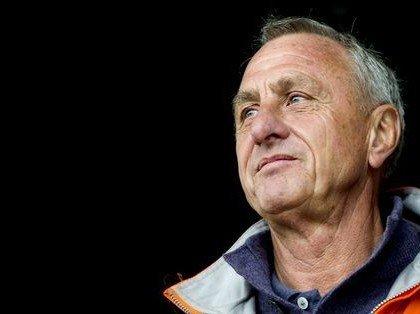 Een Legende heeft de Voetbalwereld verlaten NR 14 Johan Cruijff