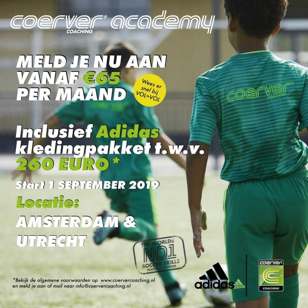 Coerver Academy Nederland 2019-2020