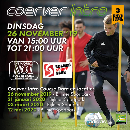 Coerver Intro Course 2019-2020
